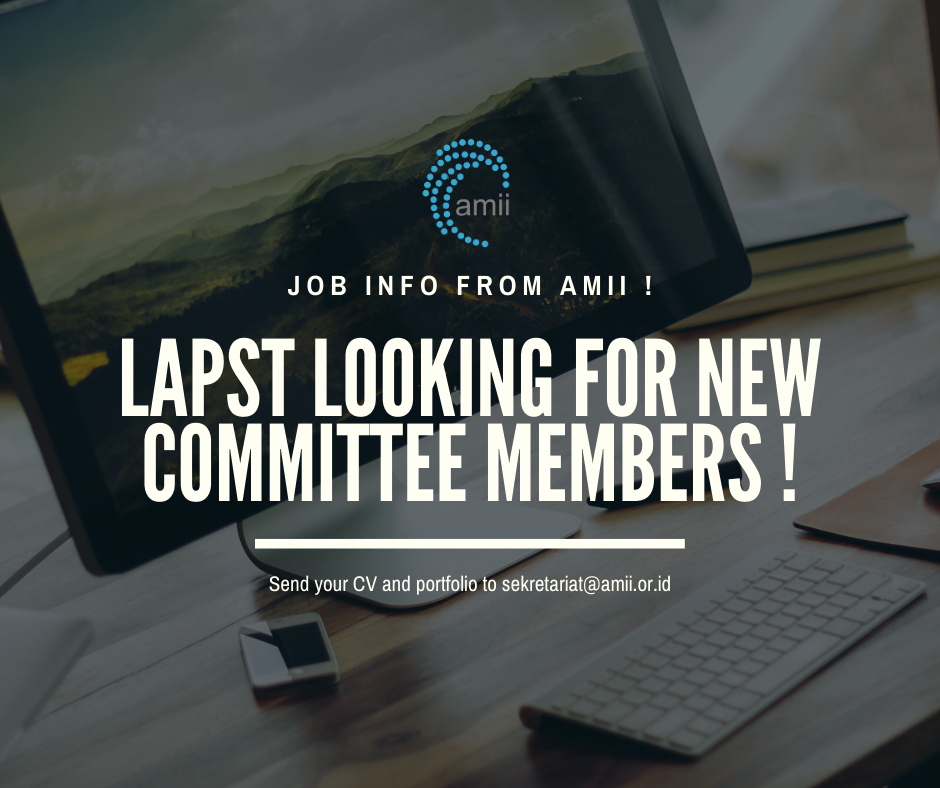 LAPST HIRING NEW COMMITTEES!