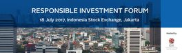 Responsible Investment Forum: Jakarta